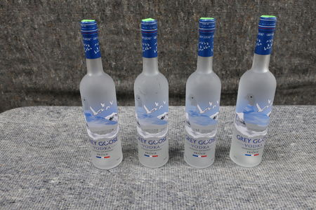 4 stk. vodka GREY GOOSE 0,7L 40% vol.